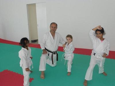 Girls Karate Class